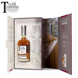 Wisky Tormore, Single Malt 16 years, Coffret 2 verres