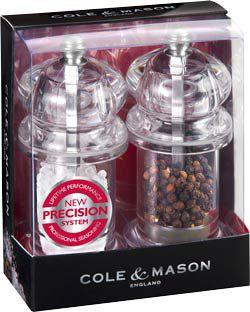 Coffret 2 moulins, Cole & Mason