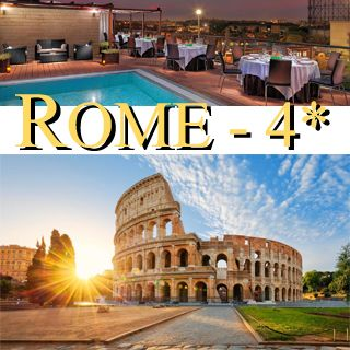Séjour suggéré, Rome 4*