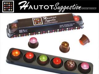 Les capsules exclusives des Chocolats Hautot