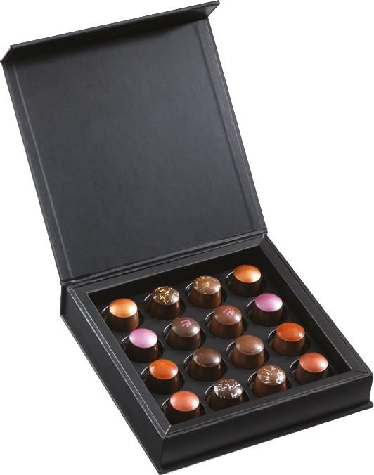 Le coffret Capsules de chocolats par Olivier Hautot