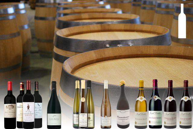 Sélection de vins (cépages au choix)
