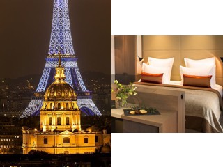 Séjour Croisières Parisiennes - Hôtel Villa Saxe Eiffel